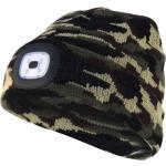 Velamp Capellino con luce frontale torcia led ricaricabile mimetico