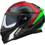 Vemar Casco moto integrale vemar zephir jmc z001 bianco rosso verde