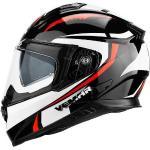 Vemar Casco moto integrale vemar zephir mark z015 nero bianco rosso