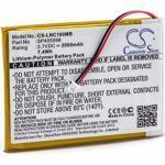 vhbw litio-polimeri batteria 2000mAh (3.7V) per babyphone babyfone babytalker Luvion Supreme Connect
