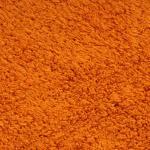 vidaXL Set Tappetini per Bagno 2 pz in Tessuto Arancione