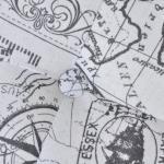 vidaXL Sgabello contenitore poggiapiedi stile ottomano rotondo diametro 81 cm