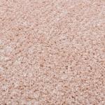 Tappeti rosa antico pelo lungo Vidaxl