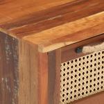 vidaXL Tavolino da Caffè 100x50x40 cm in Legno Massello di Recupero