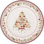Villeroy & Boch Winter Bakery Delight, Porcellana, Rosso/Multicolore (Motivi Natalizi), Piatto segnaposto