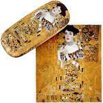 VON LILIENFELD Portaocchiali Astuccio Occhiali Leggero Stabile Colorato Compatto Regalo Motivo Arte Gustav Klimt: Adele