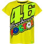 VR46 The Doctor 46 T-Shirt per bambini, giallo, dimensione 12 - 14