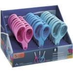 """Westcott scissors_p Softgrip punta arrotondata, 24 pezzi misto 5"""" multicolore"""
