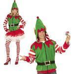Widmann-Elfo Aiutante di Babbo Natale Costume Adulto, Multicolore, (L/XL), 7039