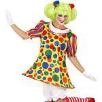 WIDMANN Pagliaccia Vestito Con Orlo A Cerchio Mutandoni Elastici Per Capelli 607, Multicolore, M