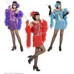 Widmann-WDM35753 Costume Adulto Donna, Viola Rosso Azzurro, WDM35753
