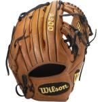 "WILSON. Guantone baseball mano sinistra A900 11,5"" marrone"