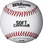 Wilson. Palla Baseball Soft Compression Bianca