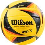 WILSON. Pallone beach-volley OPTX REPLICA giallo-nero