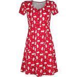 Winnie The Pooh - Dots - Abito media lunghezza - Donna - rosso