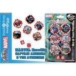 Wizbambino Mhc Cap.america & Avengers Dice & Token Accessori