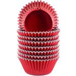 xlloest - Pirottini di carta per cupcake, in lamina metallica standard, 200 pezzi, colore: Rosso