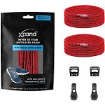 Xpand - Lacci a sgancio rapido elastici per scarpe, non si legano, taglia unica per tutte le scarpe, per adulti e bambini