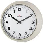 Zassenhaus 72730 - Orologio da Parete, Stile retrò, Diametro: 24 cm, Colore: Crema