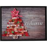 Zerbino con albero di Natale (Grigio) - bpc living bonprix collection