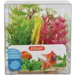Zolux Decorazione Acquari Mix 6 Piante Box Modello 4